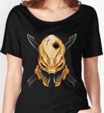 Elite Skull - Halo Legendary Orange Women's Relaxed Fit T-Shirt