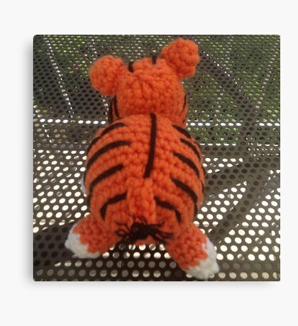 Trapped Tiger Canvas Print