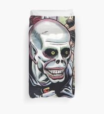 Horrible Evil Undead Ghoul Duvet Cover