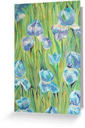 Irises by artlilly