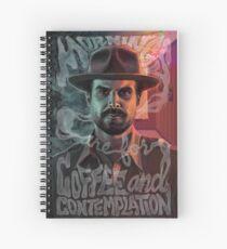 Chief Hopper's Philosophy Spiral Notebook