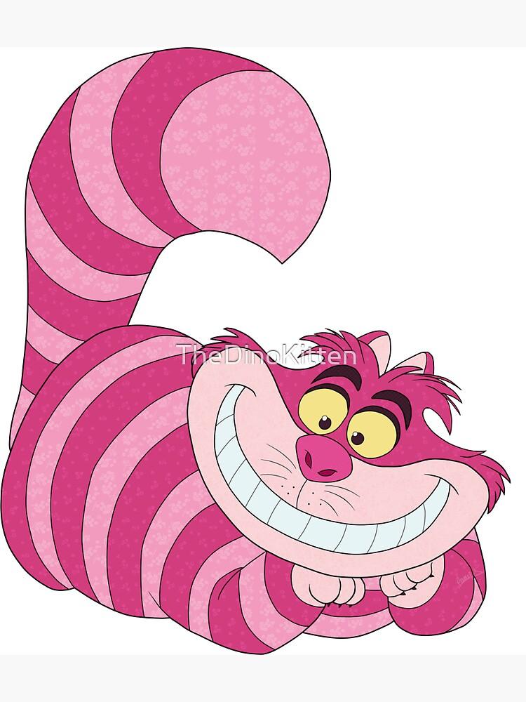 El gato de Cheshire de TheDinoKitten