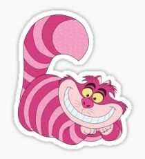The Cheshire Cat Sticker