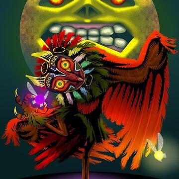 Majora's Masked Owl by EbeeThe1st
