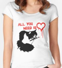 All You Need Is Cat Women's Fitted Scoop T-Shirt