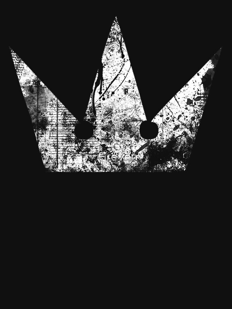 Kingdom Hearts Crown grunge | Unisex T-Shirt