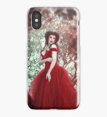 Crimson Queen iPhone Case
