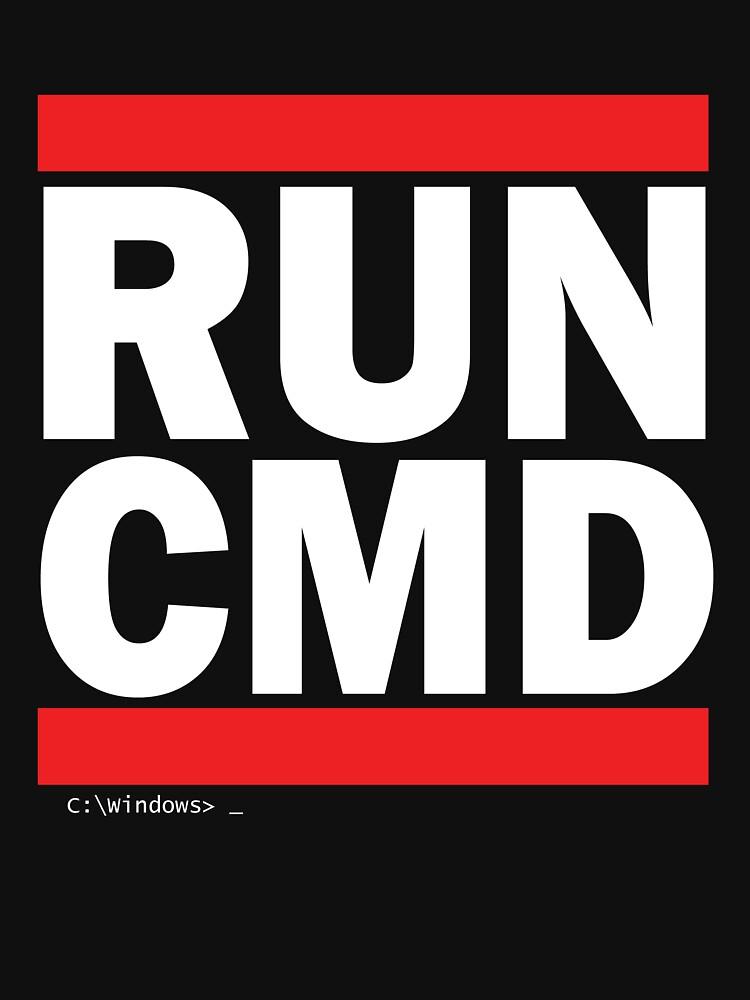 TShirtGifter presents: RUN CMD | Unisex T-Shirt