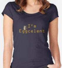 Regular Show Rigby Eggcelent Women's Fitted Scoop T-Shirt