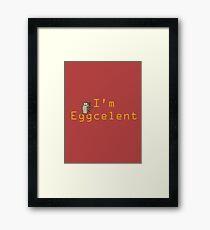 Regular Show Rigby Eggcelent Framed Print