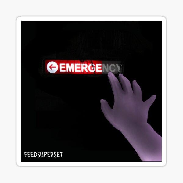 Emerge Album Art Sticker
