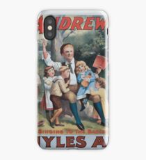 Performing Arts Posters The singing comedian Andrew Mack in the greatest of Irish plays Myles Aroon 0734 iPhone Case/Skin