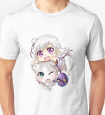 Re: Zero - Puck & Emilia Unisex T-Shirt