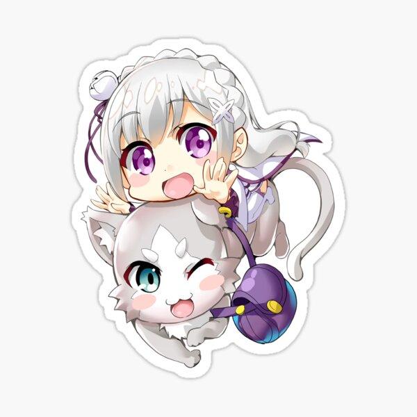 Re: Zero - Puck & Emilia Sticker