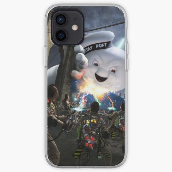 Ghostbusters Brooklyn Bridge Stay Puft iPhone Soft Case