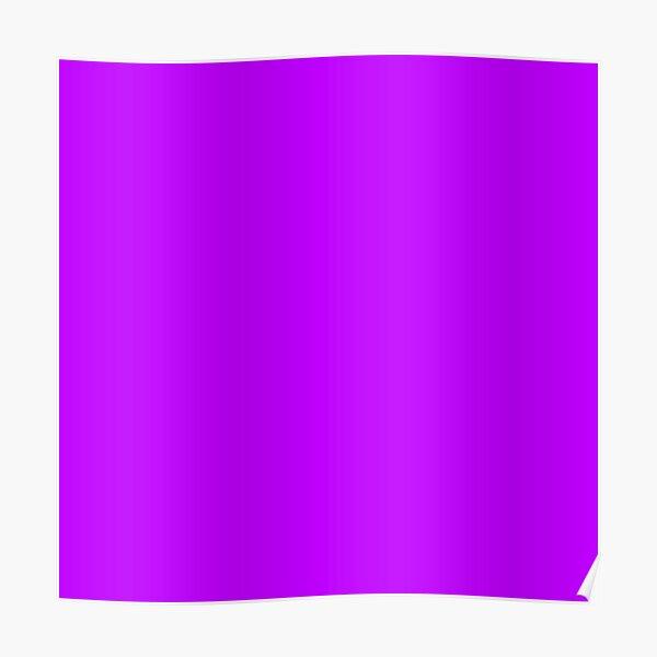 Electric purple color    Plain purple color shade by ADDUP. Poster
