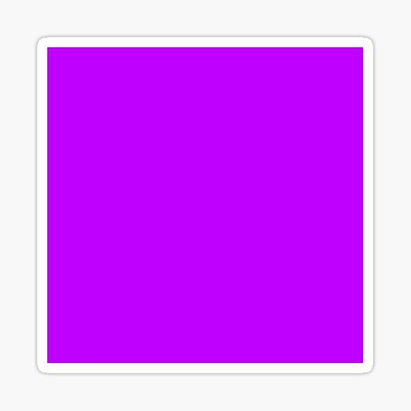 Electric purple color    Plain purple color shade by ADDUP. Sticker