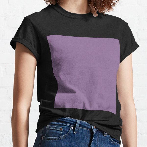 Faded purple color || Plain purple color shade by ADDUP. Classic T-Shirt