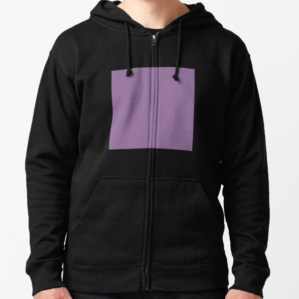 Faded purple color || Plain purple color shade by ADDUP. Zipped Hoodie
