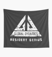 Eureka-Resident Genius Grunge Wall Tapestry