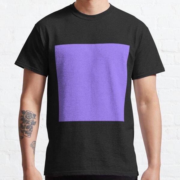 Forgotten purple color || Plain purple color shade by ADDUP. Classic T-Shirt