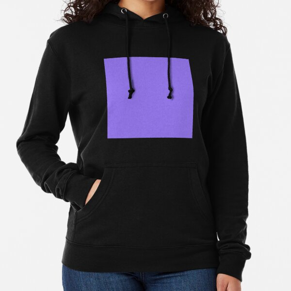 Forgotten purple color || Plain purple color shade by ADDUP. Lightweight Hoodie