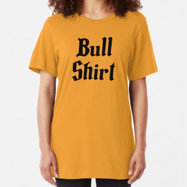 Bull Shirt – Lenny, The Simpsons, '70s Slim Fit T-Shirt