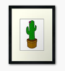 Prickly pickle Framed Print