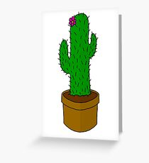 Prickly pickle Greeting Card