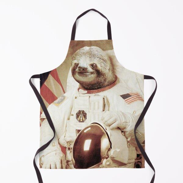 Astronaut Sloth Apron