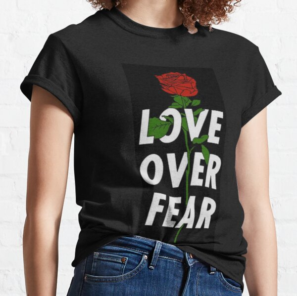 Love over fear angelo merch
