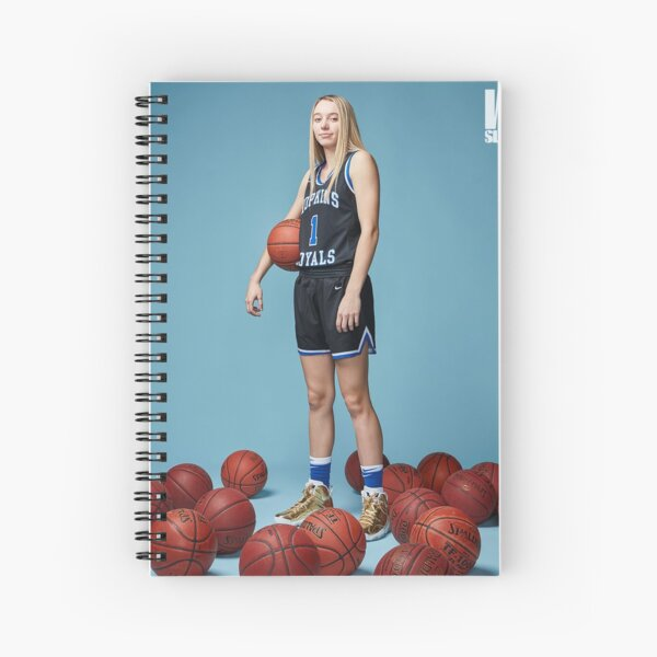 Paige Bueckers BasketBall  Spiral Notebook