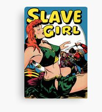 Slave Girl Canvas Print