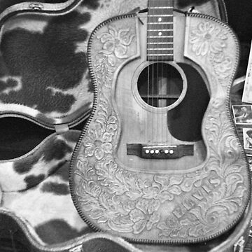 Elvis' Guitar at Sun Studio by AnalogSoulPhoto