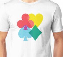 Card Shuffle 1.0 Unisex T-Shirt