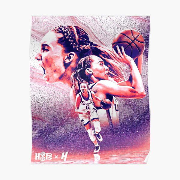 Paige Bueckers BasketBall  Poster