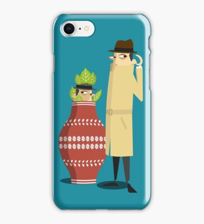 spyPhone iPhone Case/Skin