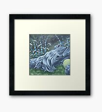 Kerry Blue Framed Print