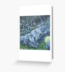 Kerry Blue Greeting Card