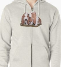 Just the Two of Us Zipped Hoodie