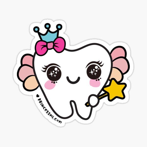 cute tooth fairy cartoon  Sticker