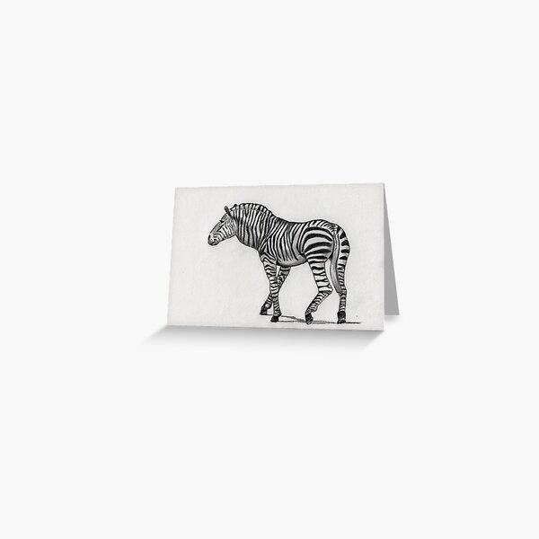 Mountain Zebra (Equus zebra) Greeting Card
