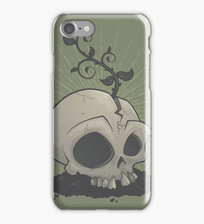 Skull Garden iPhone Case/Skin