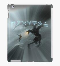 Dovahkiin fight Alduin iPad Case/Skin