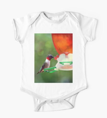 Ruby Throated Hummingbird Kids Clothes