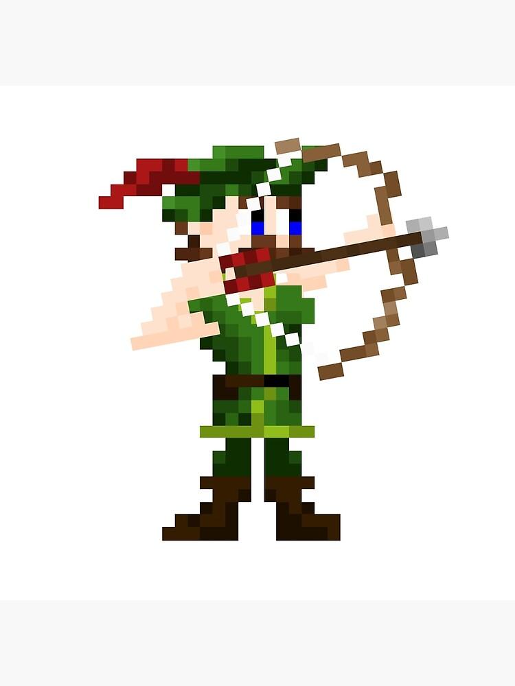 Shooty Arrow Man by dapperoctopus