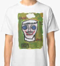 Floating Disfigured Head Painting Classic T-Shirt