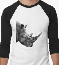SAFARI PROFILE - RHINO WHITE EDITION Men's Baseball ¾ T-Shirt