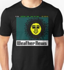 Pages From Ceefax - Weather News T-Shirt