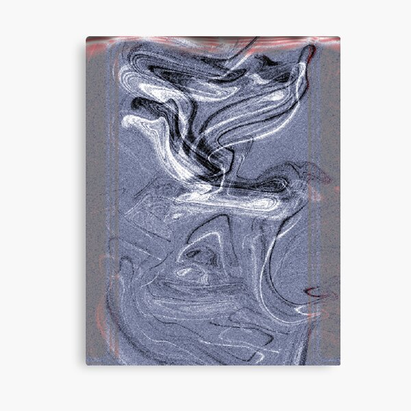 Abstract Smoke Canvas Print